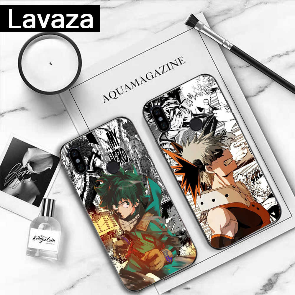 Lavaza Japan Anime My Hero Academia Een Stuk Siliconen Case voor Xiaomi Redmi 4A 4X 5A S2 5 Plus 6 6A Note 4 Pro 7 8 k20 Prime Gaan