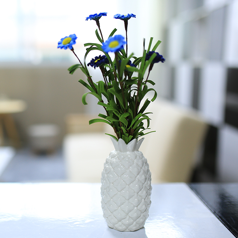 achetez en gros en c ramique ananas en ligne des grossistes en c ramique ananas chinois. Black Bedroom Furniture Sets. Home Design Ideas