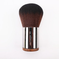 Short Metal Handle Kabuki Makeup Brush Round Head Foundation Powder Blush Cosmetic Brushes Make Up Tool