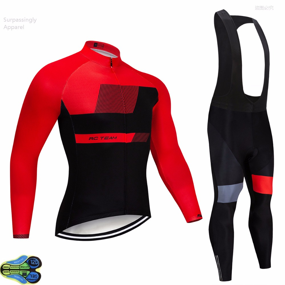 2019 Outdoor Sports Spring Summer Bike Bicycle Racing Team Cycling Long Sleeve Jersey Bib Pants Sets MTB Clothing Men Wear 2019 Outdoor Sports Spring Summer Bike Bicycle Racing Team Cycling Long Sleeve Jersey Bib Pants Sets MTB Clothing Men Wear