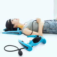 1 set neck collar and neck stretcher a neck pain cervical traction apparatus inflatable correction household