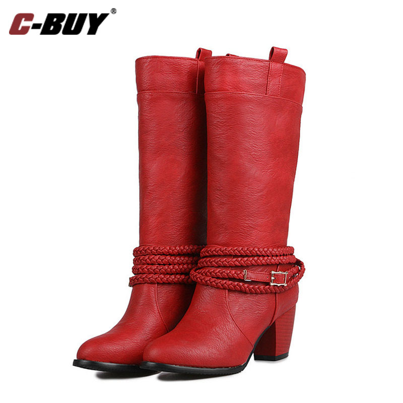 Cowboy Boots High Heel Promotion-Shop for Promotional Cowboy Boots ...