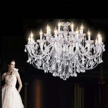 الحديث نمط جديد K9 الفاخرة كريستال الثريا غرفة المعيشة كريستال مصباح تركيبة إضاءة المنزل كبيرة كريستال Lustres دي كريستال