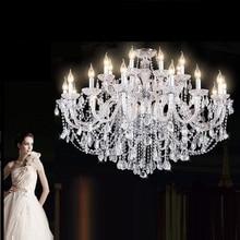 Modern yeni stil K9 Lüks Kristal avize Oturma Odası Kristal Lamba Ev Aydınlatma Armatürü Büyük Kristal Lustres de Cristal