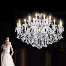 Moderne neue stil K9 Luxus Kristall kronleuchter Wohnzimmer Cristal Lampe Hause Leuchte Große Kristall Lüster de cristal