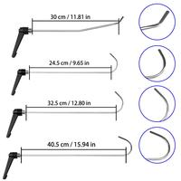 4pc Newly Design PDR Rods Set of Tools PDR Hook Tool Push Rod best PDR hook Paintless Dent Repair