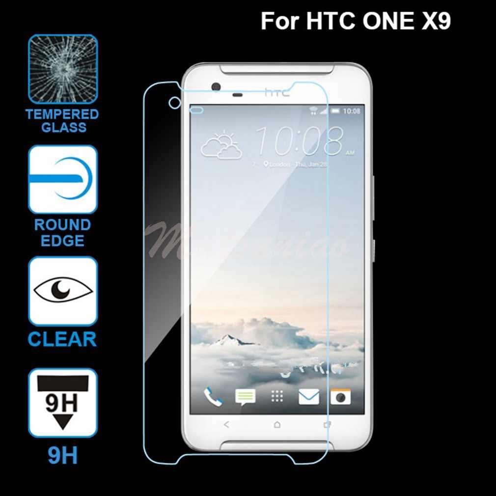 موتونياو لاجهزة اتش تي سي وان X9 اكسيسوريوس واضح 9H بريميوم واقي للشاشة واقي للشاشة مضاد للخدش هاتف محمول لاجهزة اتش تي سي وان X9