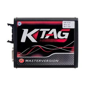 Image 2 - K Tag Ecu Programmering Tool V2.53 Ktag V7.020 Kess V2 5.017 Obd2 Manager Draaien Kit Master Online Eu Rode Kess v2 5.017 Dhl Gratis