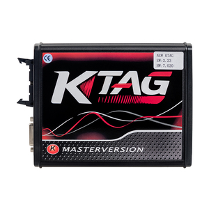 Image 2 - k tag ecu programming tool V2.53 ktag V7.020 Kess v2 5.017 obd2 manager turning kit Master Online EU Red kess v2 5.017 DHL free