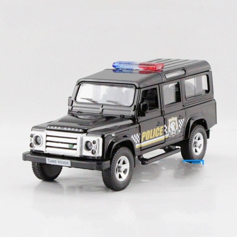 freeshipping children uni fortune range rover defender police model car 136 5inch diecast