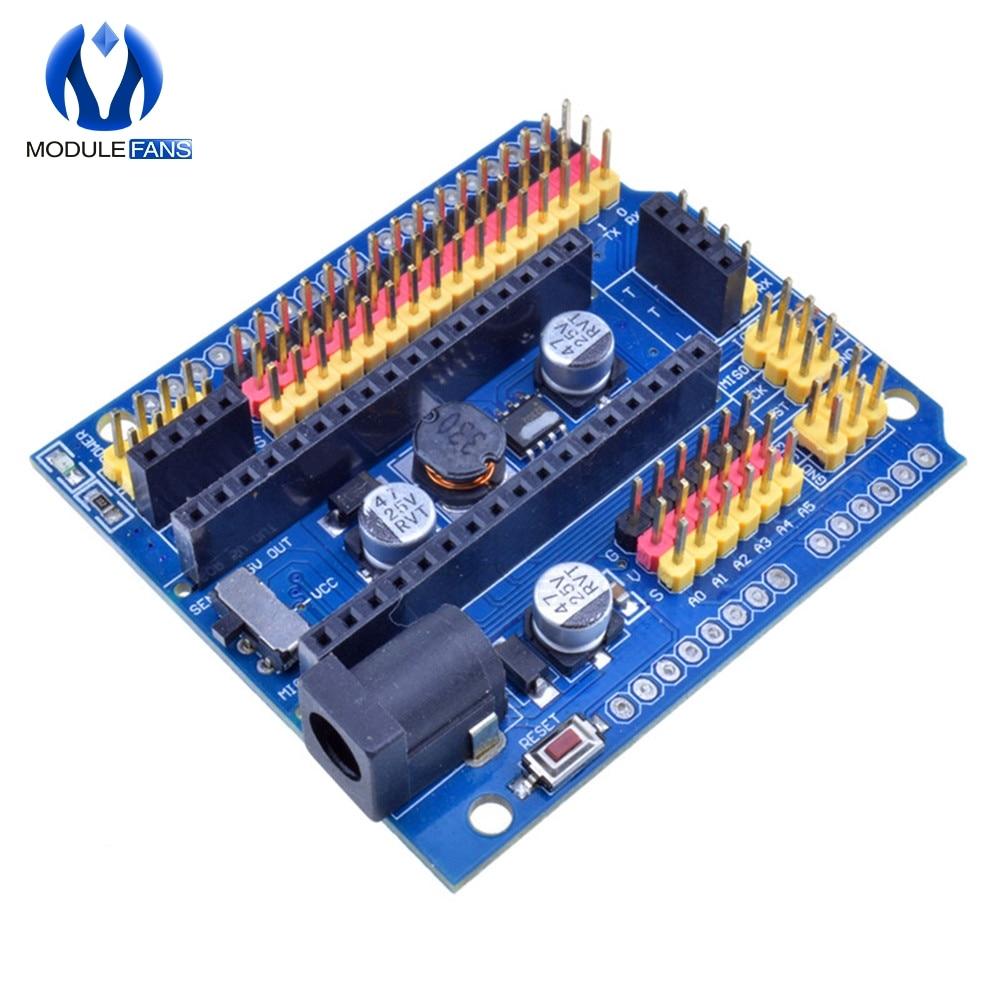 Placa de expansión de E//S V3.0 micro sensor shield Uno R3 Leonardo Arduino Nano