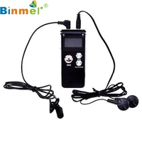 Factory Price Hot Mini USB MP3 music Player 8GB Digital Audio Voice Recorder Rechargeable Dictaphone USB Drive MP3 Player