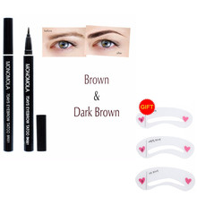 1pc Eye Brow Pencil Tattoo Pen Eye Liner Long Lasting Waterproof Eyebrow Pen Natural Easy To Wear Makeup Tool TSLM2
