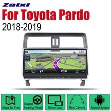 ZaiXi Auto Radio 2 Din Android Car Player For Toyota Pardo / LC950 Prado 950 2018~2019 GPS Navigation BT Wifi Map Multimedia