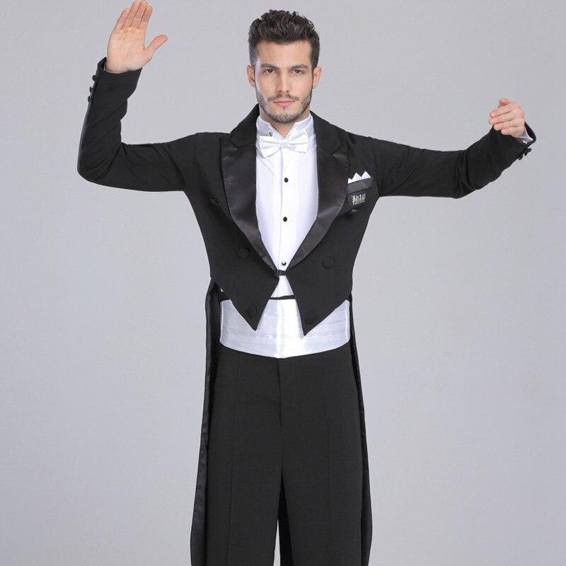 font b Men s b font Ballroom Dance Costumes font b Suit b font Swallow