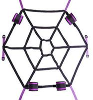 Spider web Adult flirting binding belt Sex toy Adult products Sex furniture accessory
