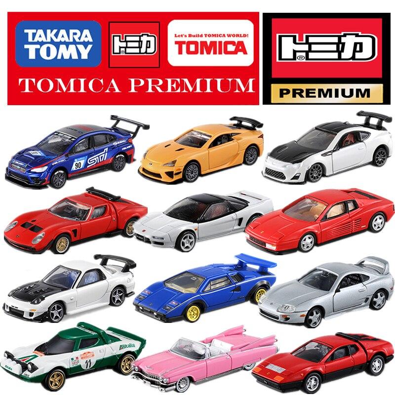 Takara Tomy Tomica – véhicule moulé sous pression, série Premium, HONDA, NISSAN, TOYOTA, Mitsubishi, LOTUS, Cadillac, Fiat, Lexus, Subaru, 1:64