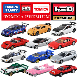 Série premium honda nissan toyota mitsubishi lotus cadillac fiat lexus subaru 1:64 carros diecast veículo brinquedos