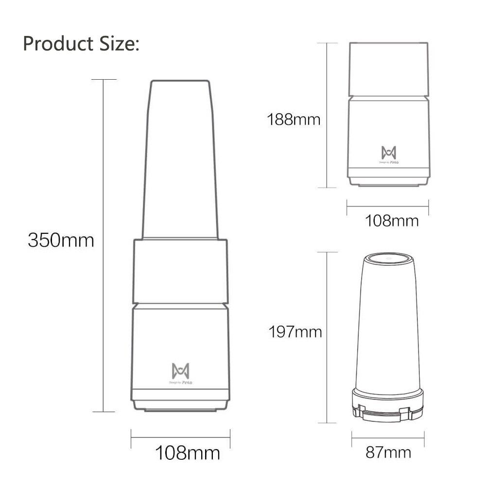 HTB1O4.8XdfvK1RjSspfq6zzXFXau Xiaomi Pinlo Fruit Vegetable Juicer Mini Electric Fruit Juicer Fruit Squeezer Household Travel blender