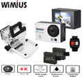 Wimius ação zoom 16mp câmera 4 k wifi 2.4g controle remoto sem fio Full HD 1080 P 60fps wide Angle Mini Vídeo Capacete Esportes Cam