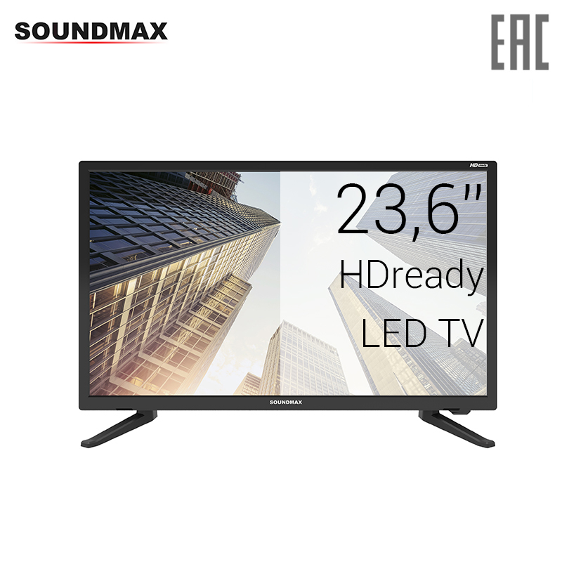 TV LED Soundmax 23.6 SM-LED24M01 HDready 30InchTv