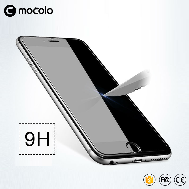 for iphone 7 plus HD Clear Protective Film 0.26mm 2.5D Curved Edge Tempered Glass Screen Protector for iPhone 6 6s Plus 5 5s SE