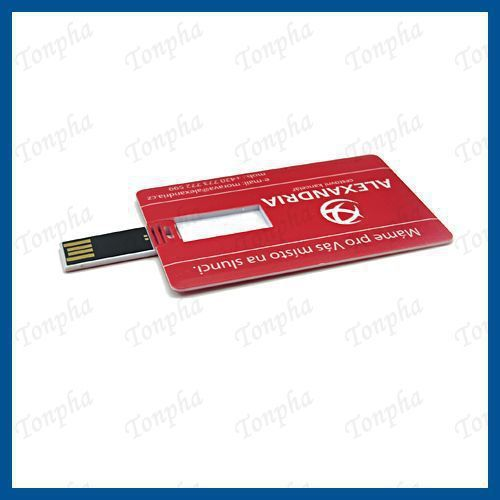 MOQ just 50pcs custom colorful print  logo business card USB flash drive 2gb/4gb/8gb/16gb/32gb