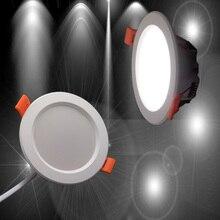5PCS/LOT LED Downlight 5W 7W  Round Recessed Lamp 220V 230V 240V for Bedroom Kitchen Indoor Spotlight ceilinglight