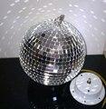 1FT 12 polegadas Luz * LED Discoteca Espelho Bola De Cristal Bola De Vidro Reflexivo Efeito de Iluminação de Palco