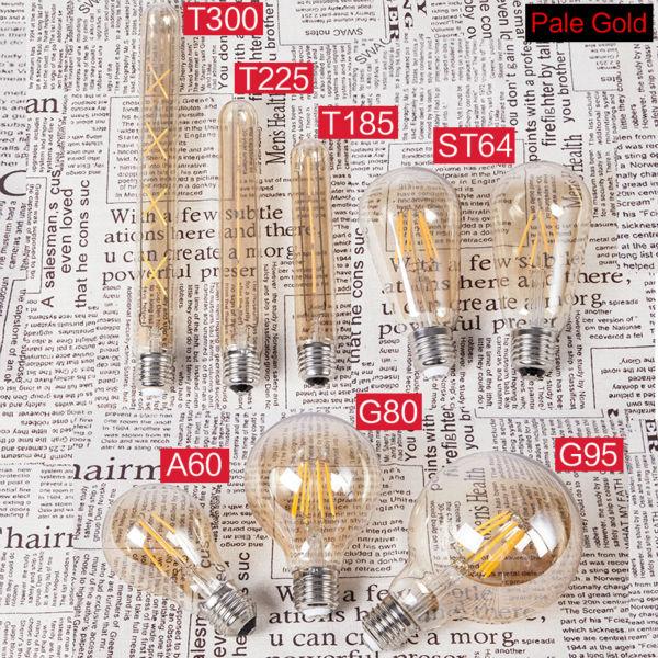 Lâmpadas Led e Tubos ygfeel retro edison lâmpadas led Temperatura de Cor : Branca Quente (2700-3500k)