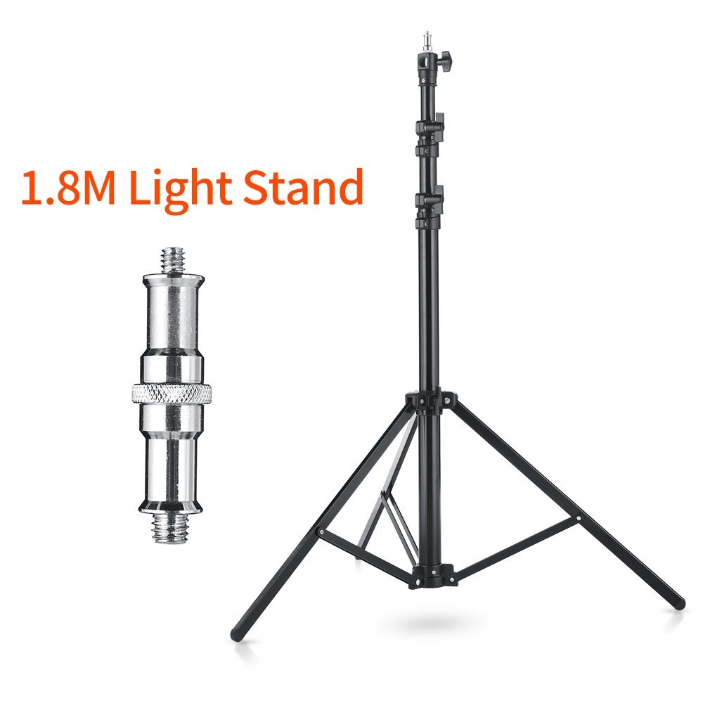 180cm Heavy Duty Impact Air Cushioned Video Studio Light Stand Quick installation Tripod For Studio Flash