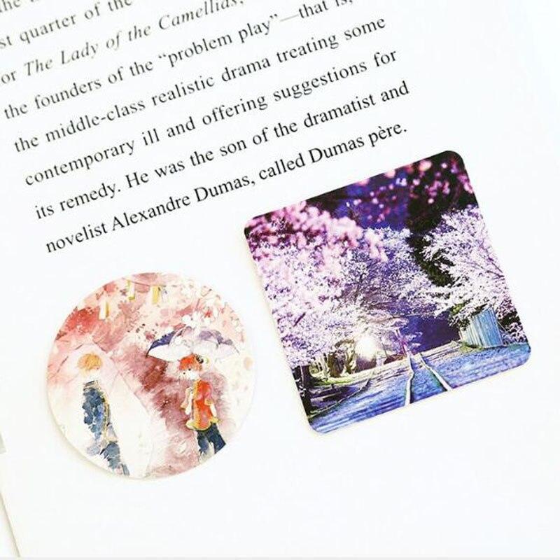 Купить с кэшбэком 46pcs/box Sakura Flowers Stickers Hand Account Decoration Stickers Diy Diary Planner Decoration Map Scrapbook Stationery