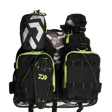 Daiwa Life Jacket Multi-function Sea Fishing Vest Fly Fishing Backpack Vest Combo Chest Pack for Tackle Gear and Accessories цена 2017