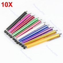 OOTDTY  10x Touch Stylus Screen Pen For iPhone 4S 4G 3GS 3G iPod Touch iPad 2/3 3rd New