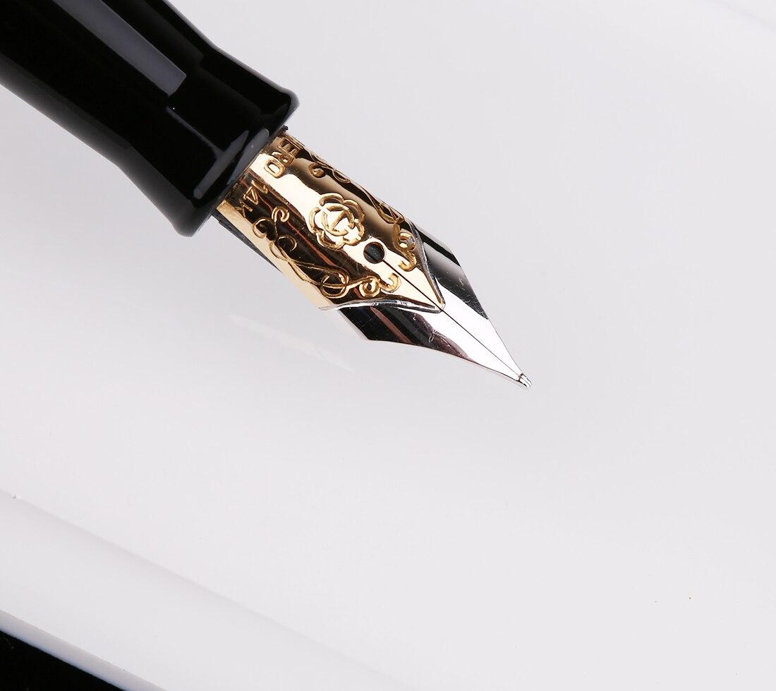 cabeças médio nib presente caneta e caixa para escritório de negócios