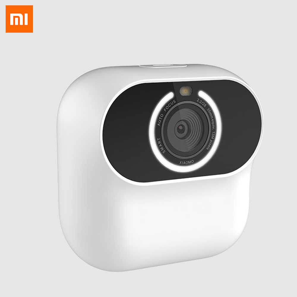 Xiaomi Xiaomo AI camera Mini camera 13MP CG010 Self Portraits Intelligent Gesture Recognition Free Shooting Angle Cam Smart APP