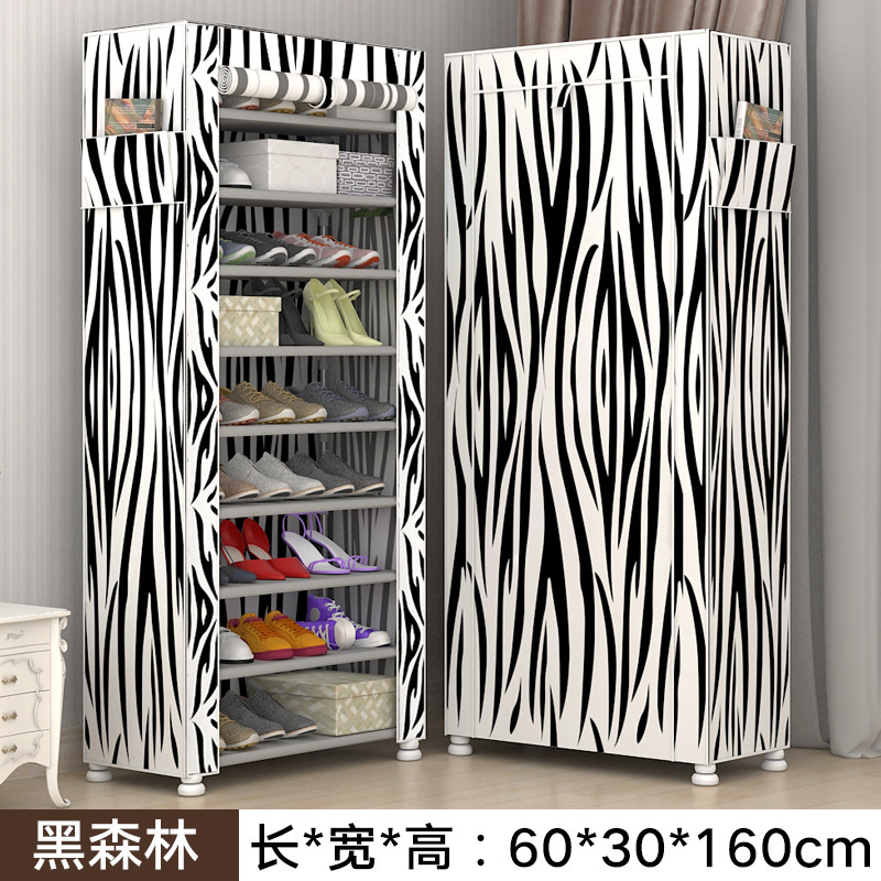 Shoe Rack Simple Multi-layer Household Dust-proof Assembly Bedroom Shoe Rack Receptacle Cloth Shoe CabinetShoe Rack Simple Multi-layer Household Dust-proof Assembly Bedroom Shoe Rack Receptacle Cloth Shoe Cabinet