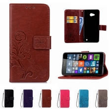Leather Printing Phone Case Wallet Cover For Nokia Lumia 535 530 532 640 930 Cases Flip Shell Stand Book Capa Card Holder Strap