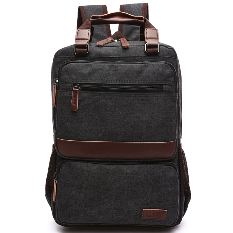 New Vintage Backpack Canvas Rucksack Leisure Travel School Bags for Teenagers Unisex Laptop Backpacks Men Bagpack Mochilas Bolsa vintage multifunction business travel canvas backpack men leisure laptop bag school student rucksack