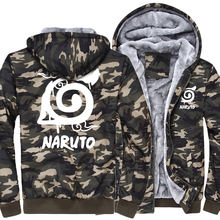 Naruto Akatsuki Red Cloud Camouflage Hoodie