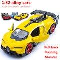 1:32 aleación cars, gt modelo de coche coche deportivo de alta simulación, metal a troquel, automóviles de juguete, tire hacia atrás de moviles y musicales, envío libre