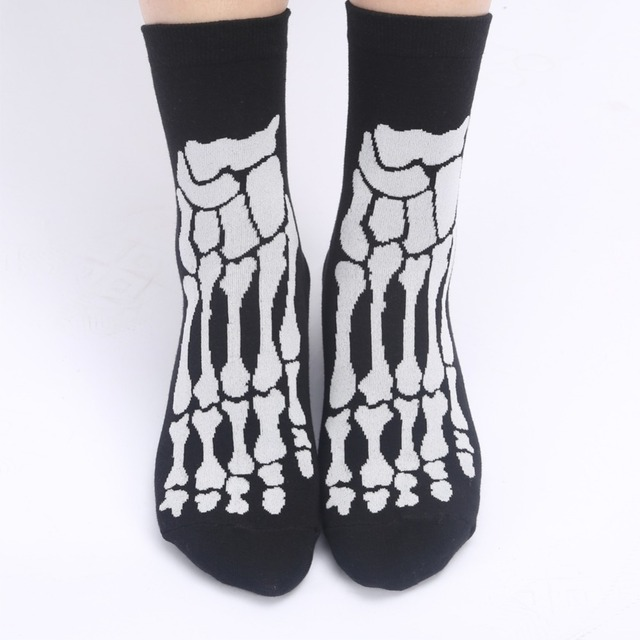 3D SKULL SKELETON SOCKS