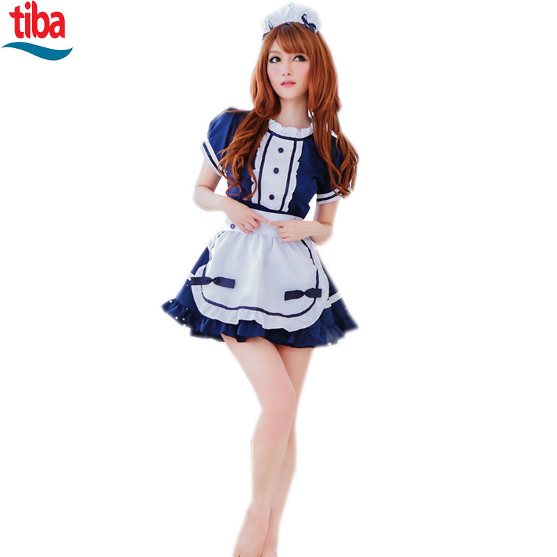 Buy Sexy maid uniform  sexy dress costume SM Cosplay sexy costumes erotic dress adult sexy role play lingerie