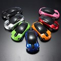 Portable Wireless Mouse 2.4Ghz USB 1600DPI Car Shape Button Mini LED Optical Gaming Mice For PC Laptop Computer Multicolors