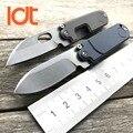 Складной мини-нож LDT S35VN  титановый нож с ручкой TC4  карманные тактические ножи для кемпинга  охоты  выживания  для улицы  инструменты для повс...