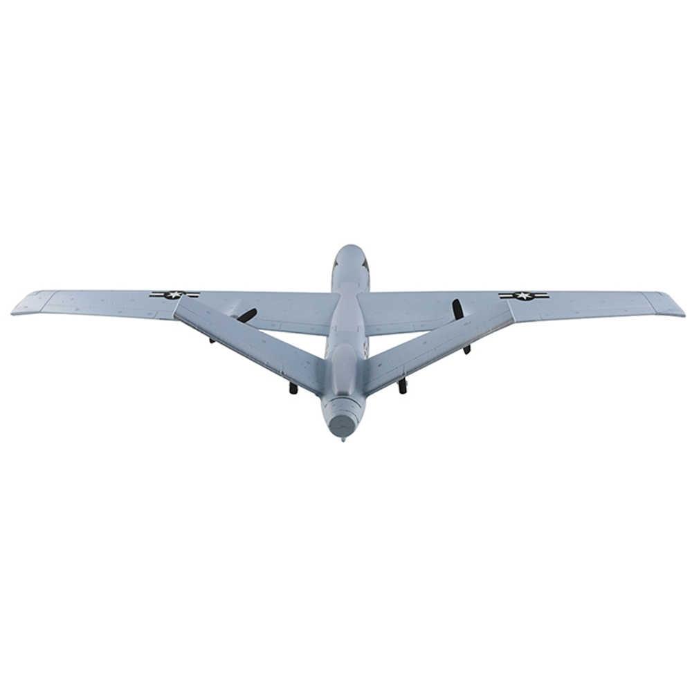 2,4G 2CH Predator Control remoto RC aeroplano 660mm RC Drone Wingspan espuma mano LANZAMIENTO DE deslizador DIY Kit para niños regalo
