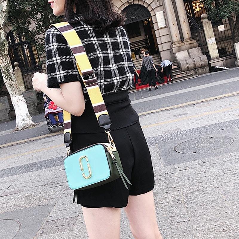 Image 5 - Summer Small Bag Girl Woman Luxury Handbags Women Bags Designer 2018 New Korean Style Camera Shoulder Bags Brand Messenger Bag-in Shoulder Bags from Luggage & Bags