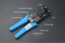Multifunction Crimping Network Tool Kit