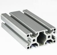 4080 EC Aluminum Profile Extrusion 40 Series Aluminum Tube Length 1 Meter