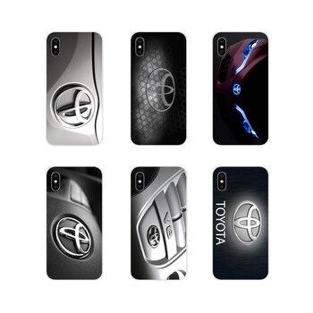 Автомобильные аксессуары для Toyota Racing, чехлы для телефонов Apple iPhone X, XR, XS MAX, 4, 6, 5, 5, 6, 6S, 7, 8 Plus, ipod touch, 5, 6, 5, 5, 6, 6